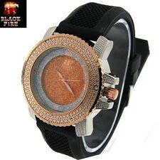 """LADIES """"BLACK FIRE WATCH"""" DESIGNER STYLE ICE NATION WATCHES BRAND NEW STYLE #101"""