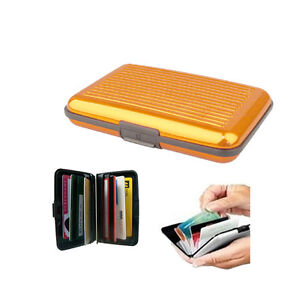 New-Aluminum-Wallet-Credit-ID-Business-Card-Purse-Safety-Metal-Holder-Golden