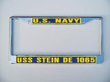 USS MEYERKORD FF 1058 DE 1058 License Plate U S Navy USN P01