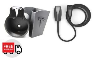 New Tesla Mobile Connector Cable Organizer Umc Holder Eu Type2 Model 3 X S Y Ebay