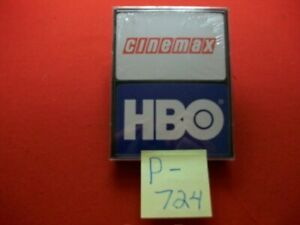 2 COLLECTIBLE VINTAGE SETS PLAYING CARDS CINEMAX-SEALED HBO-OPEN COMPLETE SETS