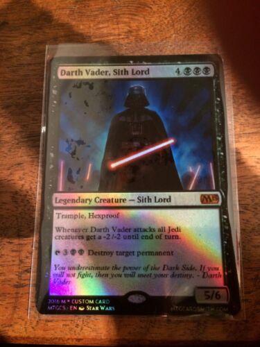 Darth Vader Magic The Gathering MTG Card Planeswalker Star Wars Human Sith