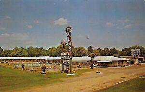 Mobile-AL-Palms-Motel-Roadside-US-90-Pool-Sky-Ranch-Steak-House-1960s-Cars