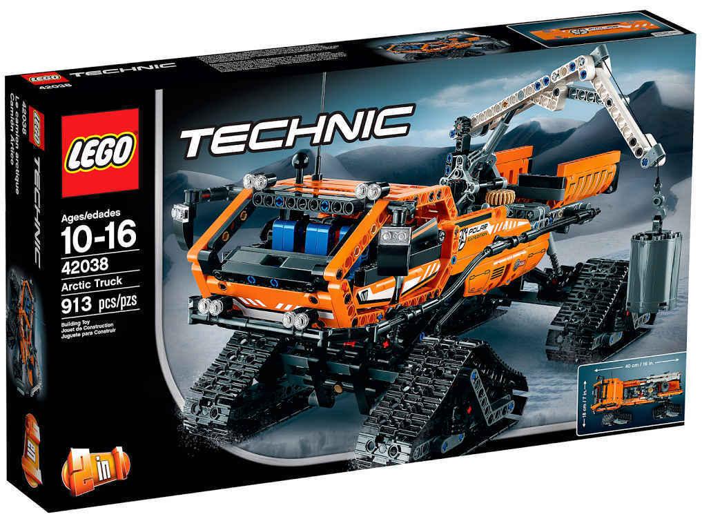 NEU LEGO® TECHNIC  42038 - Arktis-Kettenfahrzeug NEU & OVP 2-in-1-Modell