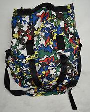 Puma Mihara Yashiro Tote Bag Camo Multicolor Pop Art Satchel Large
