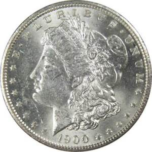 1900-O-1-Morgan-Silver-Dollar-US-Coin-AU-About-Uncirculated
