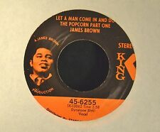 James Brown King 6255 Let A Man Come In And Do The Popcorn Part One and Sometime