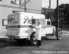 A Vintage Palm Ice Cream Truck (1) Vancouver, BC - 1935 - Historic Photo Print