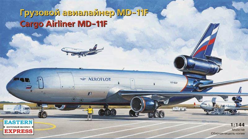 Eastern Express 1  144 McDonnell Douglas MD -11F Aeroflot bilgo Civil Airliner