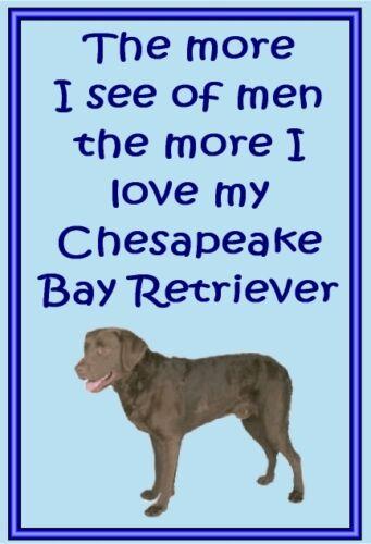 Dog fridge magnets New Gift Chesapeake Bay Retriever New Free UK p//p