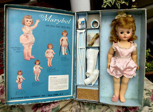 1958-Original-Madame-Alexander-MARYBEL-The-Doll-That-Gets-Well-Tagged-Dress-Box