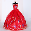 9PCS-Barbie-Doll-Wedding-Party-Dress-Princess-Clothes-Handmade-Outfit-for-12in thumbnail 4