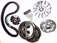 Transmission Rebuild Kit Yerf Dog 150 Gx150 Go Kart Variator Pulley Clutch Belt