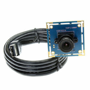 ELP HD 2.0Megapixel 1080P Mini CMOS USB Camera Module with 6.0mm Lens Brand New