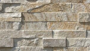 Pietravera fondo piastrella da rivestimento in scaglie di pietra artide ebay - Mattonelle da rivestimento per esterno ...