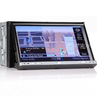 "Motorizzato Autoradio 7"" 2 Din GPS navigatore 3G DVD Bluetooth RDS SD AUX 7051GI"