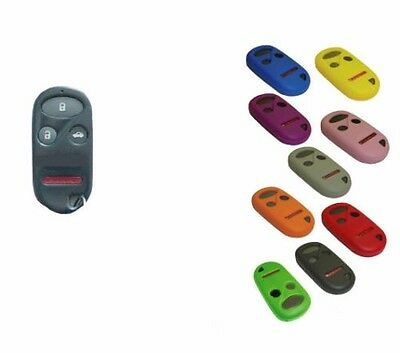 Honda / Acura Key Fob Cover Jacket Silicon Black Pink Red Purple Blue Red