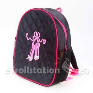 d5356c95d06c Lovely Girls Large Black Backpack Dance Bag Pink Ballet ShoesTap ...