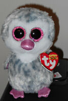 Ty Beanie Boos - Olive The 6 Penguin Claires Exclusive 2016 Mwmts