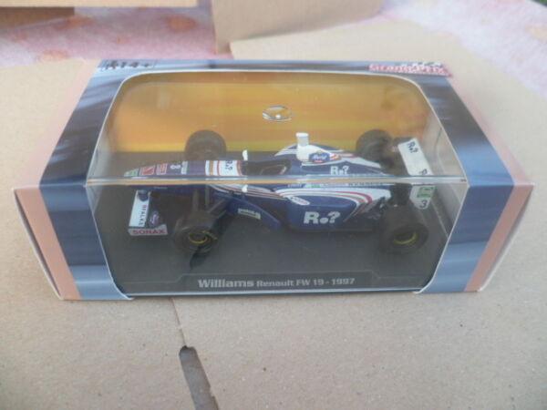 1/43 Neu Formule1 Williams Renault Fw 19 1997 Jacques Villeneuve's Éd. Atlas