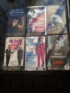 Billy-Connolly-VHS-Tapes