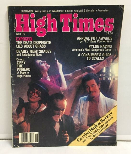High Times Magazine June 1979 '79