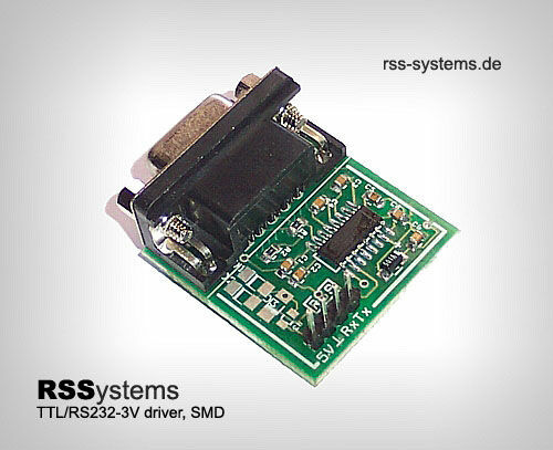 LOW PW SMD,+3V DIGITAL CONVERTER TTL TO RS232 SIGNALS