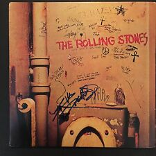Keith Richards The Rolling Stones Signed Autograph Record Album JSA Beggars