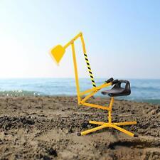 Kinbor Kids Outdoor Digging Toy Scooper Excavator for Sand Metal Crane Digger