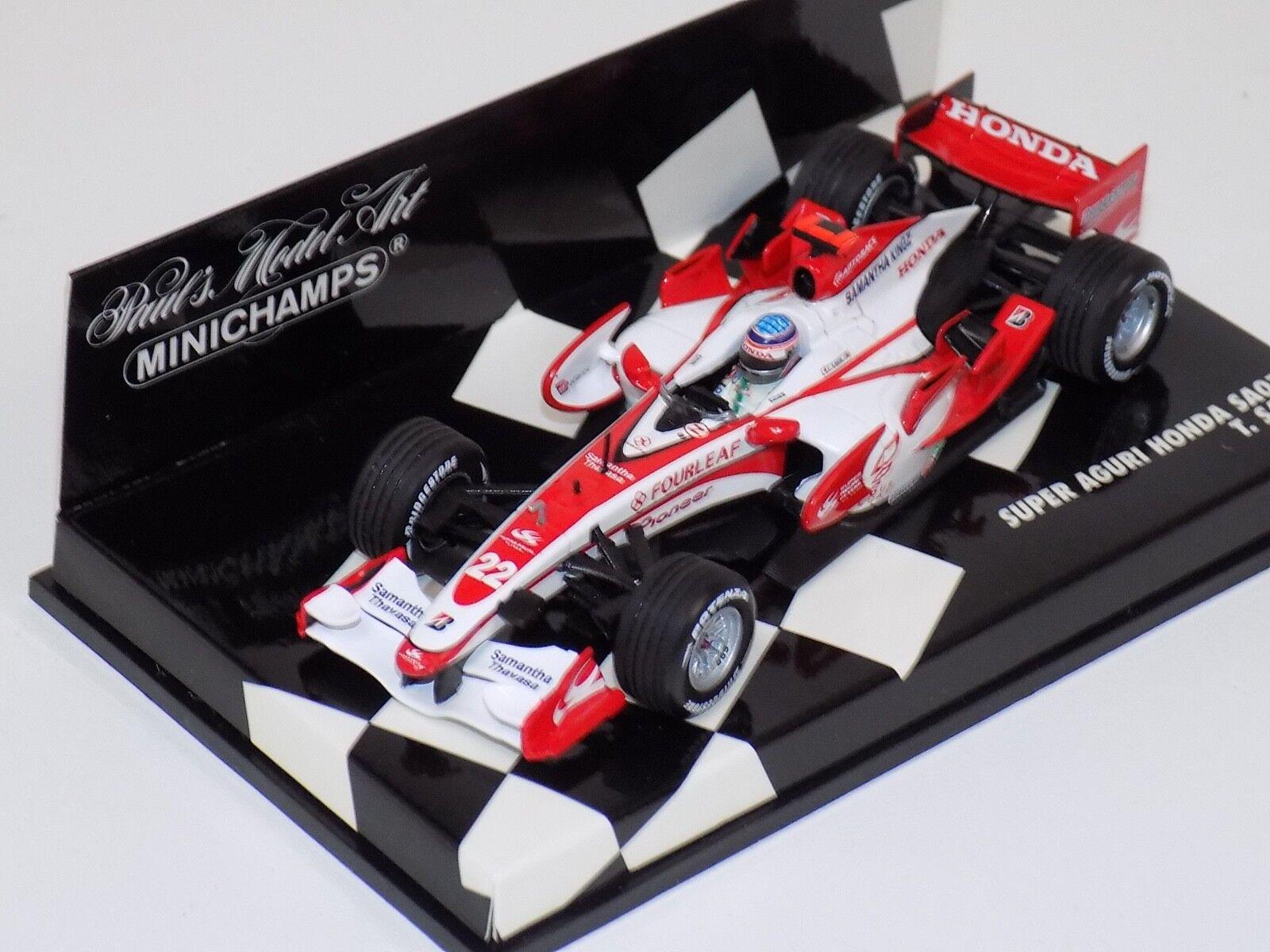 1 43 Minichamps F1 Super Aguri F1 Team Honda SA07 T. Sato 2007