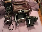 LOT OF 4 OLD VINTAGE KODAK CAMERA'S LOOK AT PHOTOS