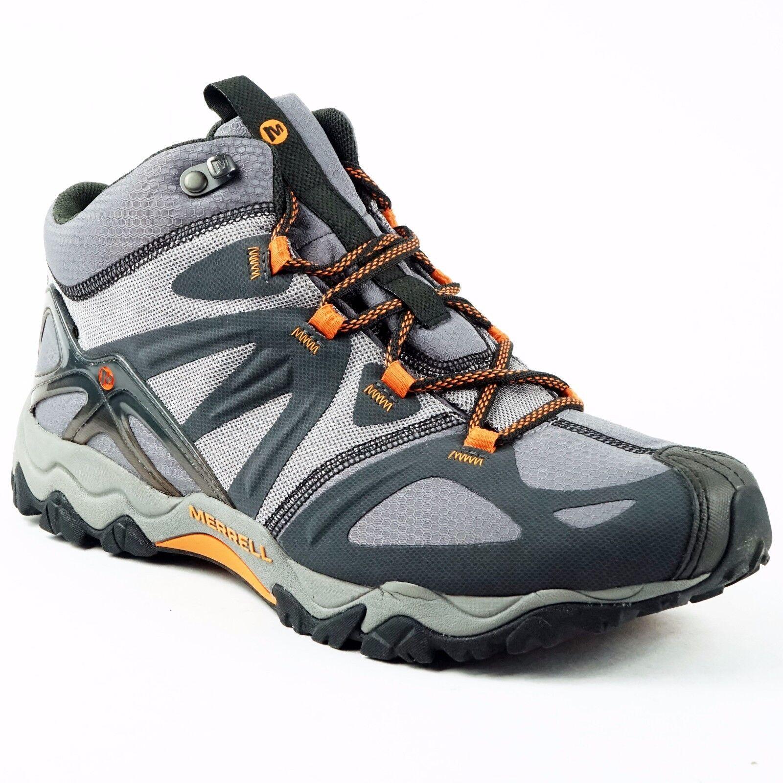 Merrell Mens Grassbow Mid Gore-tex grigioTrekking scarpe Walking Hiking scarpe US11