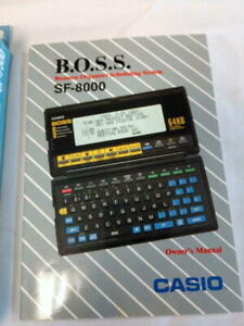NEW-BOSS-Casio-SF-8000-User-Operations-Manual-Only