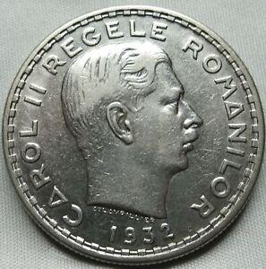ROMANIA-100-lei-1932-London-About-UNC-Carol-II-B87