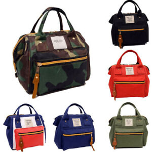 Women-Shoulder-Bag-Satchel-Crossbody-Handbag-Tote-Purse-Messenger-Canvas-NEW