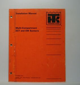 Details about Thermo King ECT EW Installation Manual SB-III Super-II Sentry  TC Wiring Diags