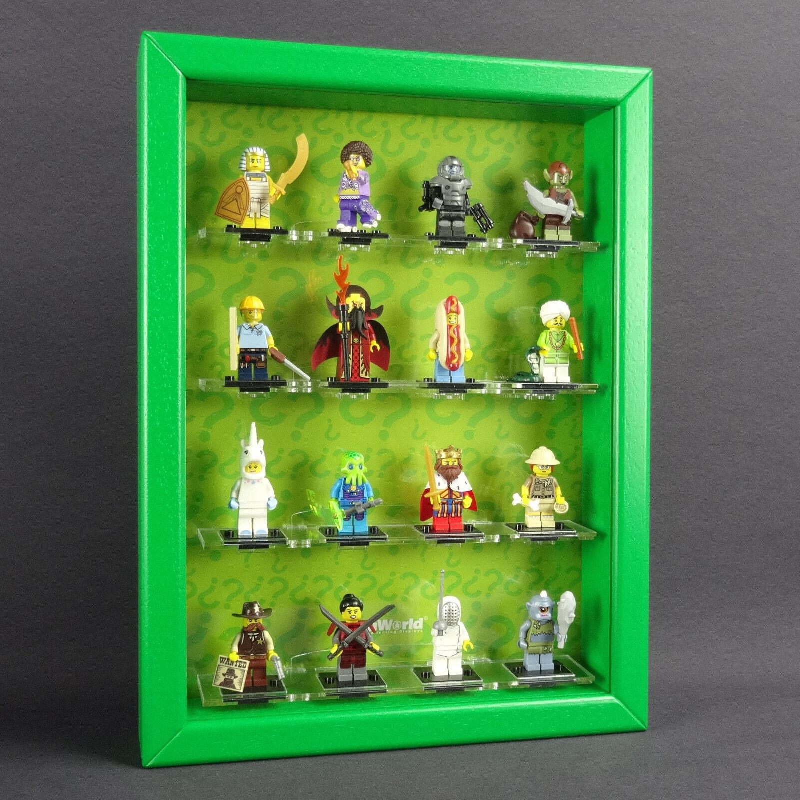 Figucase Sammelvitrine für LEGO® Serie 71008 minifigures Serie 13 Vitrine