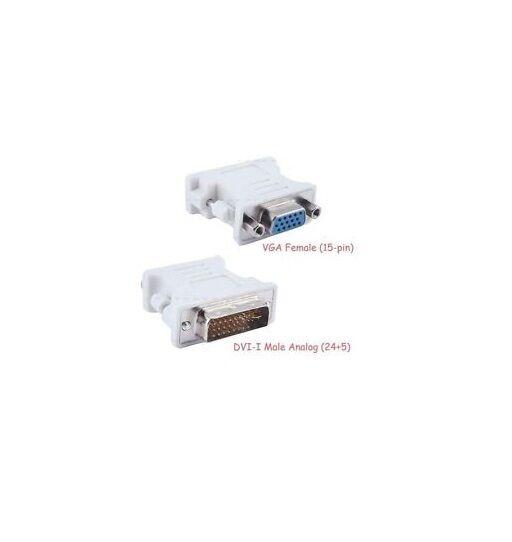 10 x DVI-I 24+5 Mâle vers VGA Femelle Adaptateur 15 broches connecteur convertisseur