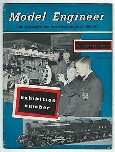 Model-Engineer-August-1957-Vol-117-No-2935-Percival-Marshall-amp-Co-Ltd-Good