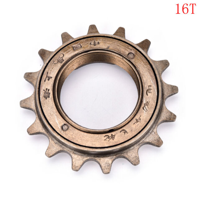 1Pc Bmx Bike Bicycle Race 16T Tooth Single Speed Freewheel Sprocket Part Ge GF