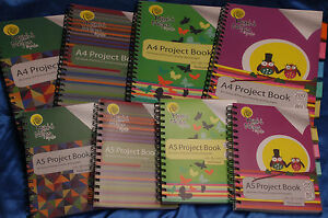 Details about Munki Notes A4 & A5 Project Books - 4 Designs - Wipe Clean  Cover - 200 Pages