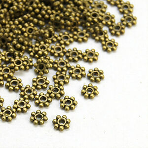 500pcs Unplated Brass Cube Metal Beads Tiny Loose Spacers Beading Craft 2.5mm