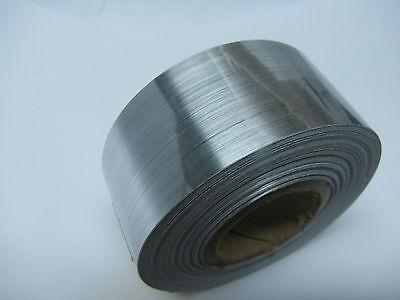 """Brushed Aluminum Sign Vinyl 12/""""x 10 feet Longlife Brush Stainless Steel Plastic"""