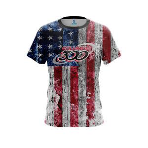 Motiv USA Israeli Flag CoolWick Bowling Jersey