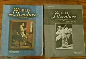 Abeka-World-Literature-CURRENT-4th-Ed-Student-Textbook-and-Quiz-Test-Key-10th-Gr
