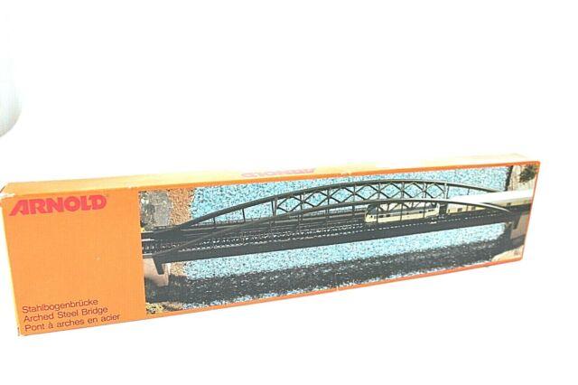 Arnold 6190 Bausatz Stahlbogenbrücke ~~~NEU~~~ ***Spur N ***