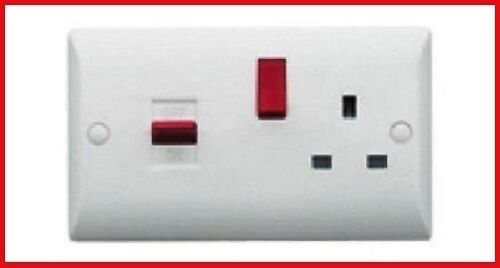 """Brand New Superswitch SW25 45A /""""DP COOKER CONTROL UNIT/"""" Socket Original"""