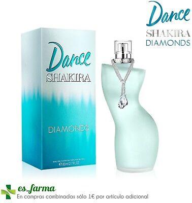 SHAKIRA PERFUME DANCE DIAMONDS EAU DE TOILETTE 80ML MUJER FEMME WOMAN COLONIA   eBay
