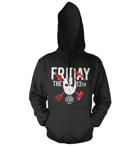 The Day Everyone Fears Hoodie S-XXL Sizes Officially Licensed Friday The 13th