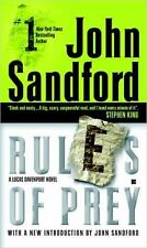 A Prey Novel: Rules of Prey 1 by John Sandford (2005, Paperback)